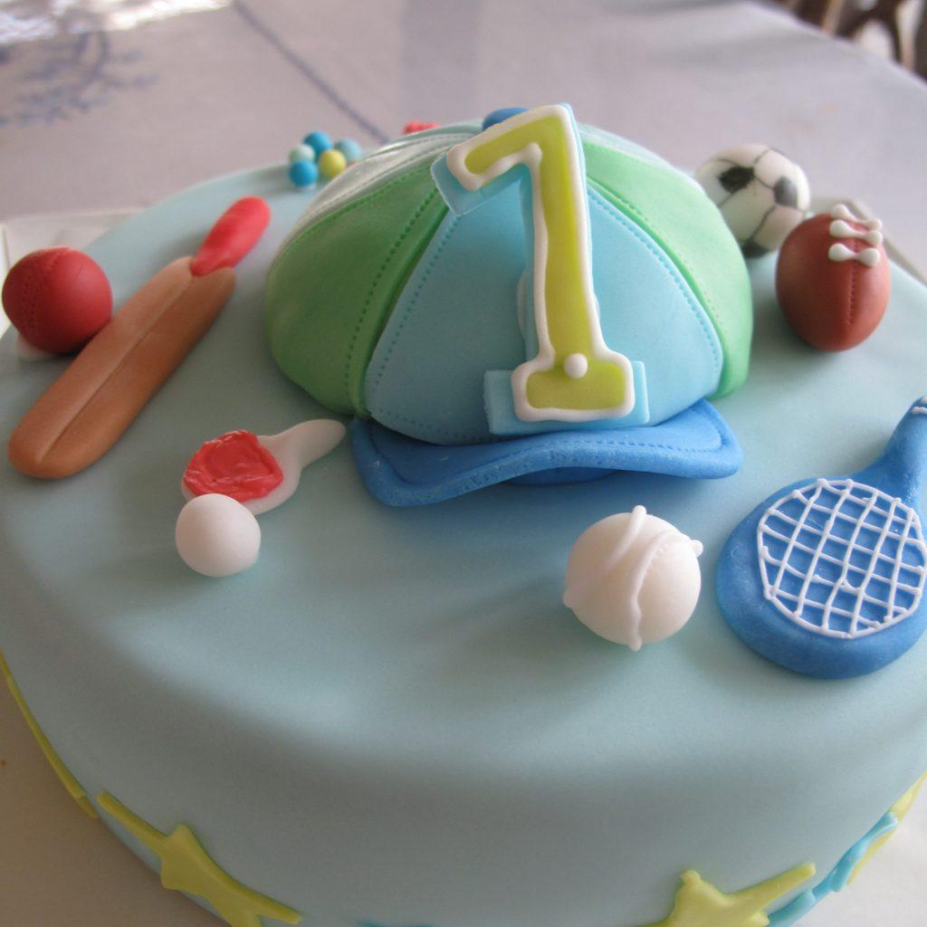 3004 1歳のお誕生日ケーキ 男の子