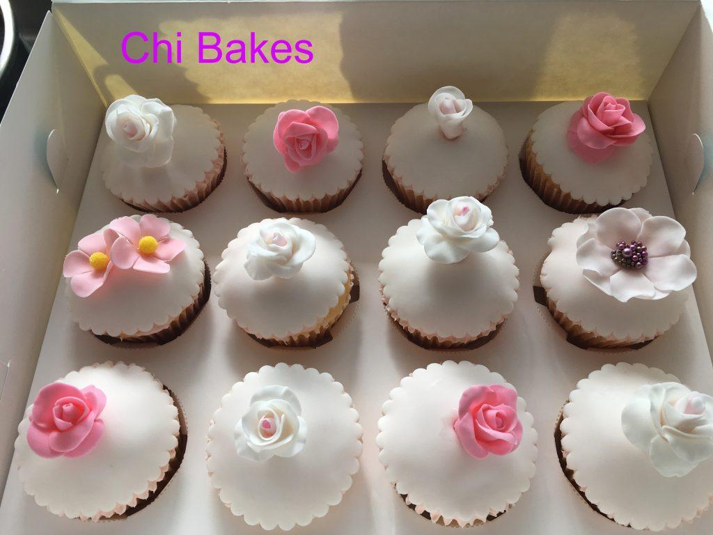 0013 Rose Cupcakes バラのカップケーキ