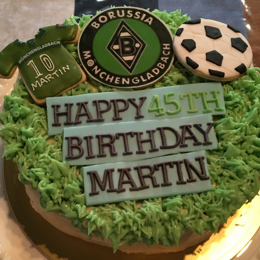 3026 サッカーチームケーキ