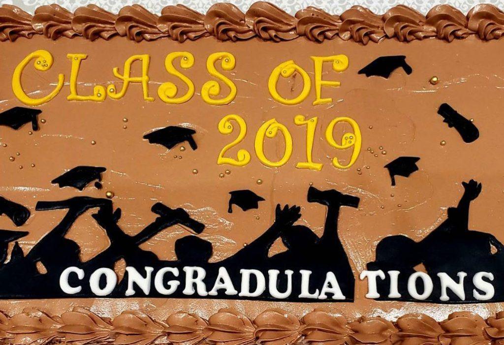 3034 Graduation Cake ご卒業式パーテイのケーキ