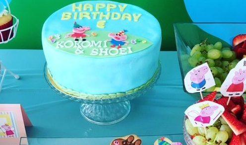 3029 Peppa Pig Birthday Cake ペッパピッグお誕生日ケーキ