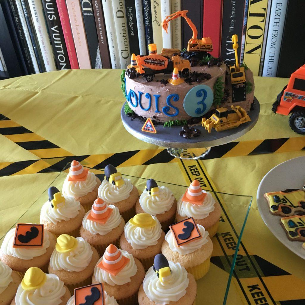 3009 働く乗り物バースデーケーキ