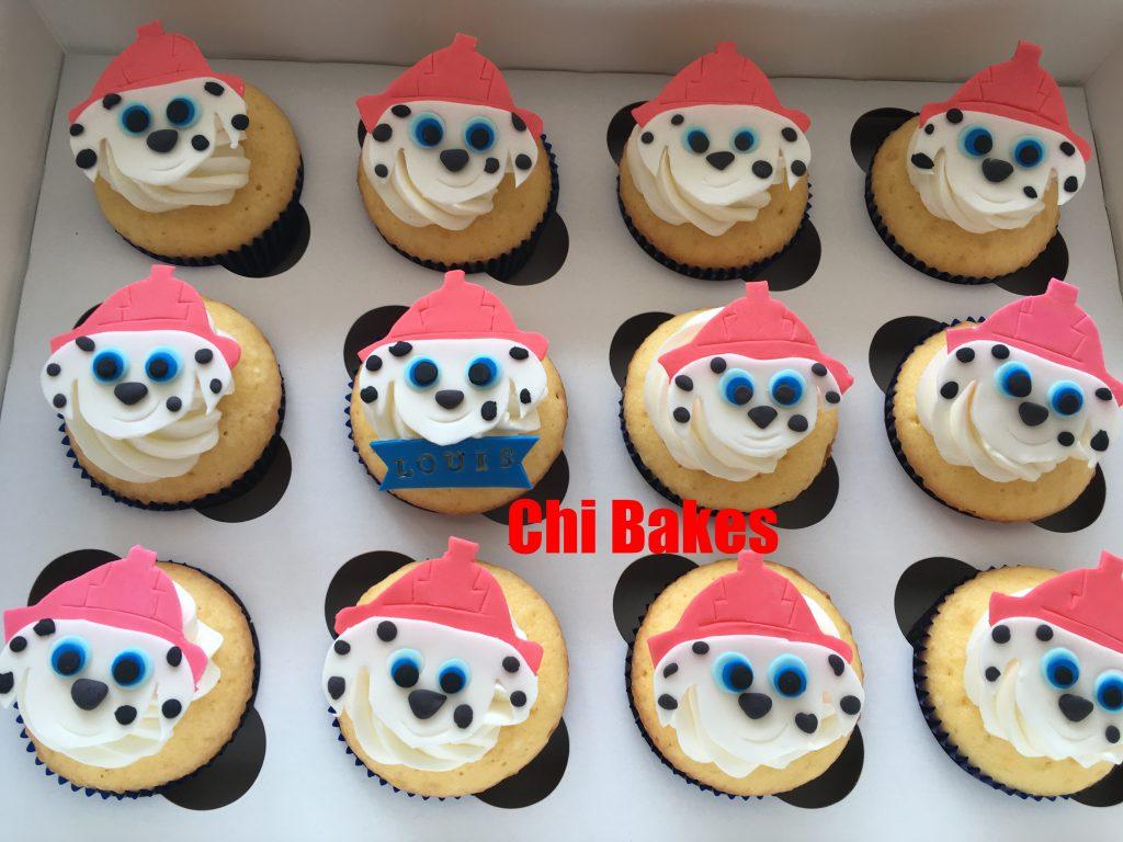 0020 Pow Patrol Cupcakes ポウパトロール カップケーキ