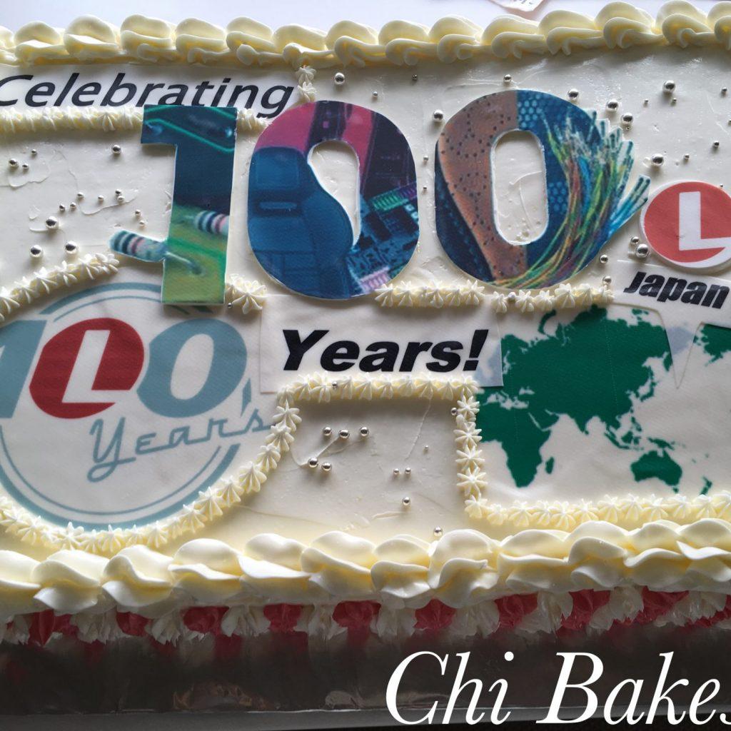 3011 創立記念などのイベントケーキ