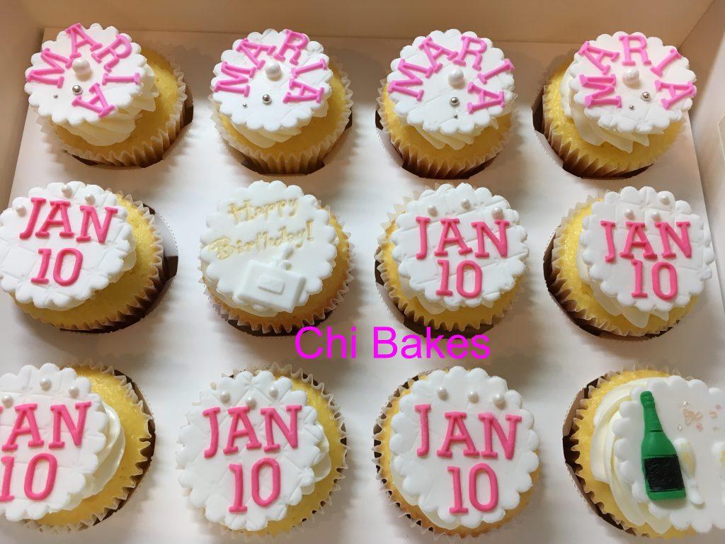 0028 お名前と、イベント日のカップケーキ