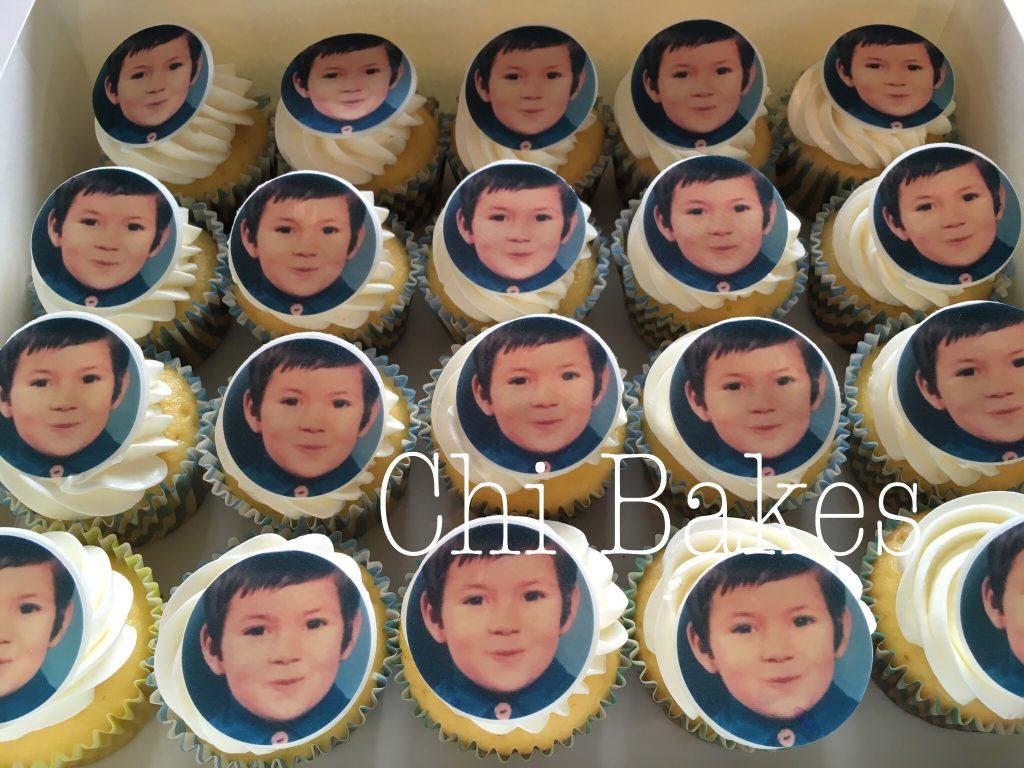 0029 お写真のカップケーキ