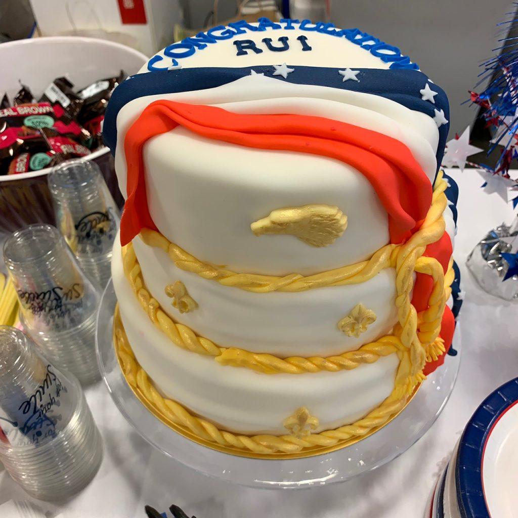 3019 Eagle Scout ECOH celebration cake
