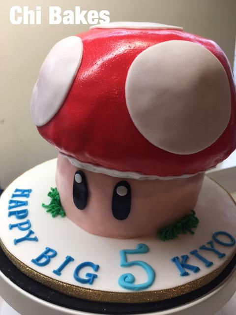3024 キノピコのお誕生日ケーキ