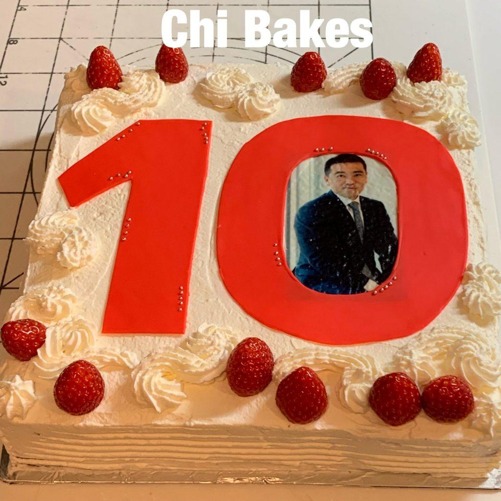 3001 写真ケーキ