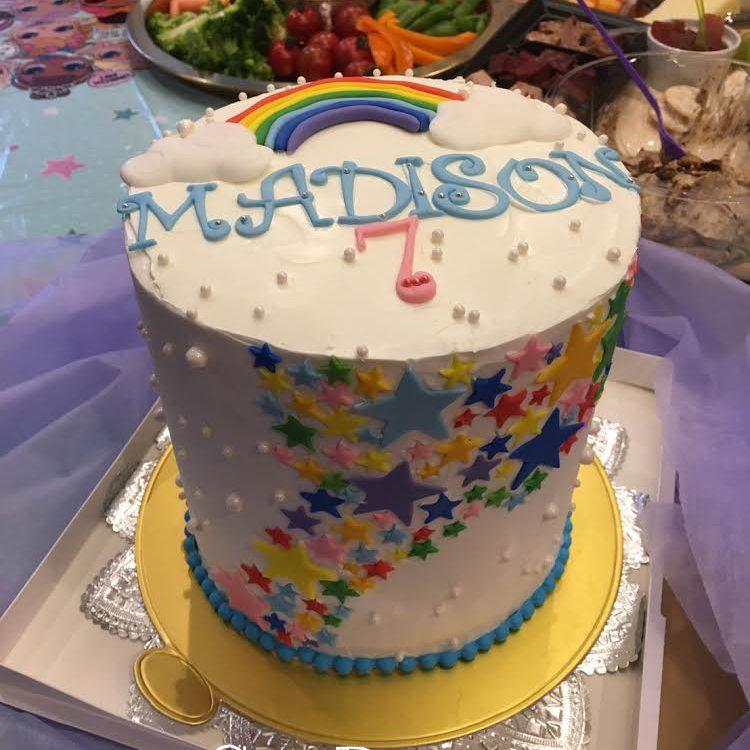 3037 Rainbow Cake レインボーケーキ