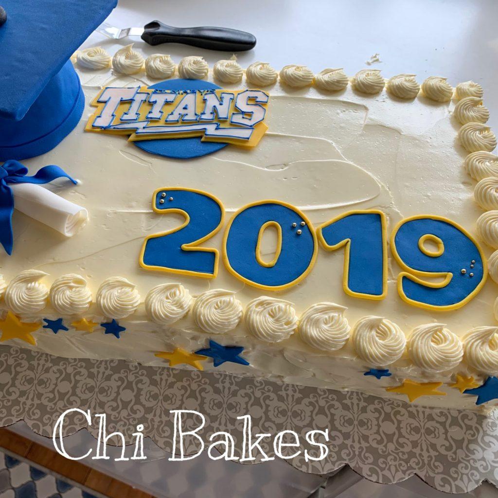 3003 卒業式のケーキ Graduation cake