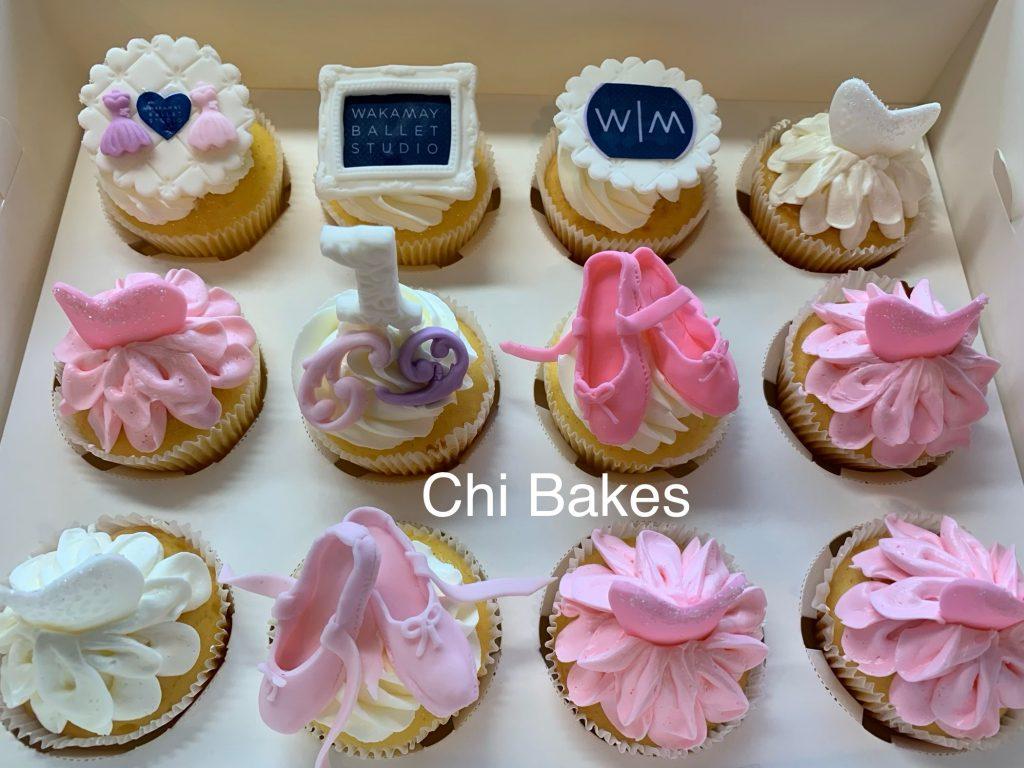 0065 バレエのカップケーキ