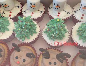 0067 クリスマスカップケーキ