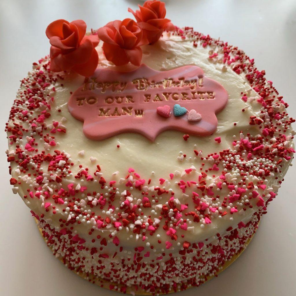 3042 Red Velvet Cake レッドベルベットケーキ